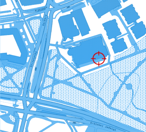 Mapka okolic Centrum PrEP